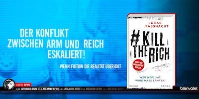 Lucas Fassnacht: Buchpremiere #KillTheRich feat. Goodbye Loona