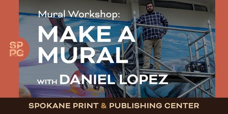 Make a Mural with Daniel Lopez tickets