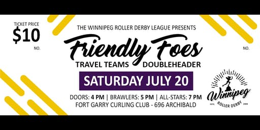 WRDL Friendly Foes: Travel Teams Doubleheader