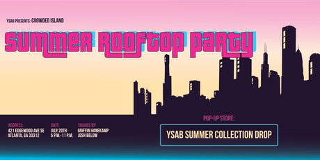 YSAB Crowded Island:  Summer Rooftop Party tickets