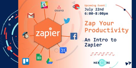 Zap Your Productivity: An Intro to Zapier tickets