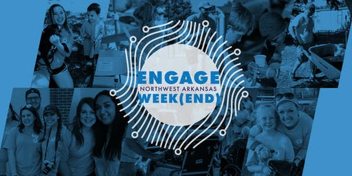 Engage Week(end) - Downtown Rogers Cleanup