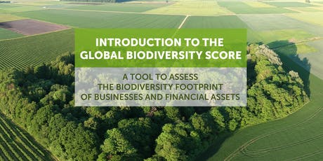 Présentation du Global Biodiversity Score (GBS) - empreinte biodiversité billets