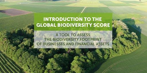 Présentation du Global Biodiversity Score (GBS) - empreinte biodiversité