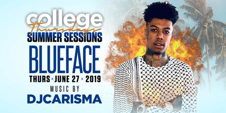 BLUEFACE Live @ INCAHOOTS OC 18+ w/Special Guests / COLLEGE THURSDAYS tickets