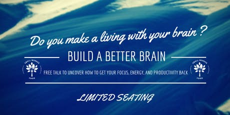 Build a Better Brain, Free Hour with Kirsten Serrano tickets