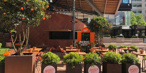 APEROL TERRACE AT THE OAST HOUSE
