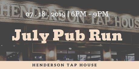 July Pub Run | Henderson Tap House tickets