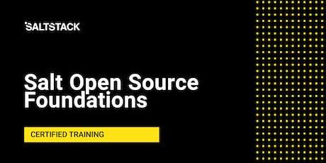 Salt Open Source Foundations tickets