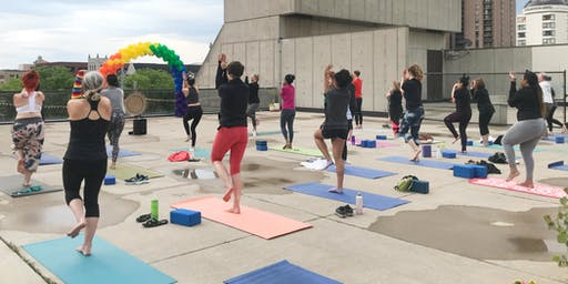 Holistic Happy Hour + Rooftop Yoga