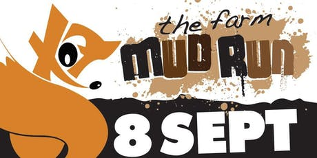 The Farm Mud Run - Basildon -8 September 2019- Session 2 - 11.00am to 1:00pm tickets