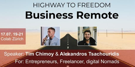 Business Remote - Highway to Freedom Tickets