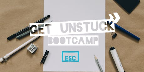 Get Unstuck - a 3 day bootcamp to get yourself going again tickets