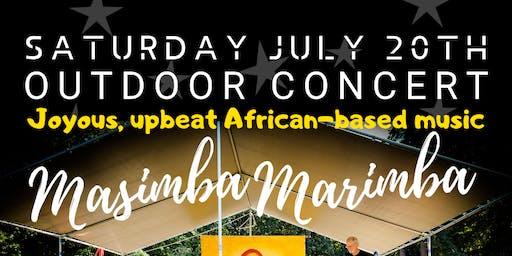 MASIMBA MARIMBA - Joyous African Music - Outdoor Concert