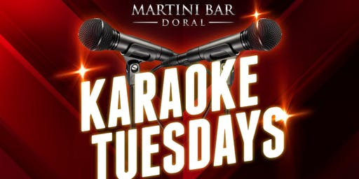Karaoke Tuesdays at Martini Bar!
