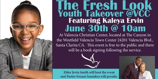 Valencia Christian Center Fresh Look Youth Takeover Event