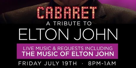 Elton John Tribute! Live music piano bar! tickets