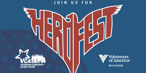HEROFEST Lansing, MI August 16, 2019 10:00a-1:00p