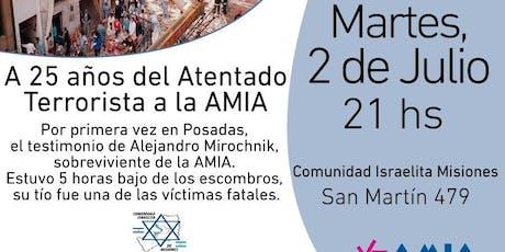 Relato del ataque terrorista a la Amia en primera persona entradas