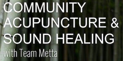 Community Acupuncture + Sound Healing