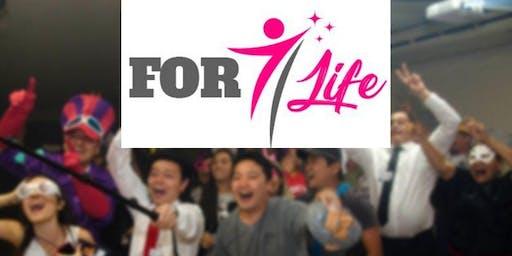 Treinamento For Life  - Dias 26, 27 e 28 de Julho