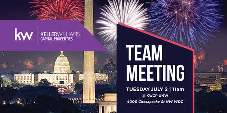 KWCP DC & Bethesda Joint Team Meeting tickets