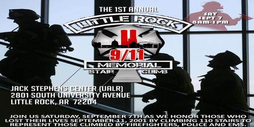 2019 Little Rock 9/11 Memorial Stair Climb