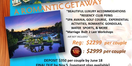 Marriage Built 2 Last Luxury Couples Retreat tickets