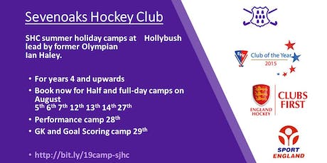 Sevenoaks Hockey Club Summer Camp tickets