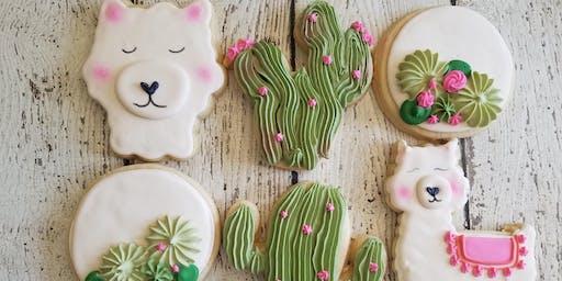 Llama cookie workshop