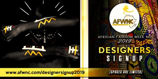 African Fashion Week 2019 - Designer Tickets