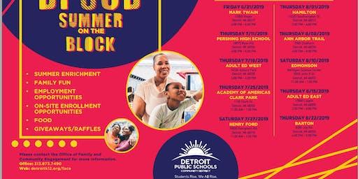 DPSCD Summer On The Block