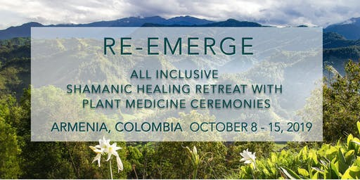 PLANT MEDICINE RETREAT IN ARMENIA, COLOMBIA (APPLICATION ONLY)
