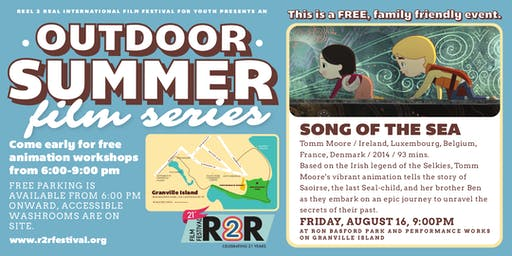 R2R Outdoor Summer Film Series: Song of the Sea