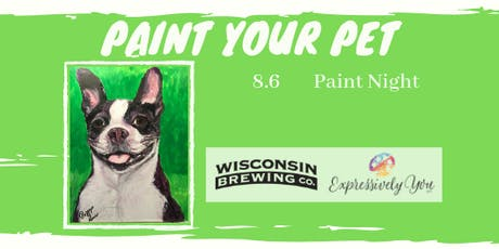 Paint Your Pet Paint Night tickets