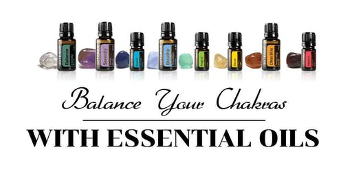 New Moon Balance Your Chakras with Essential Oils