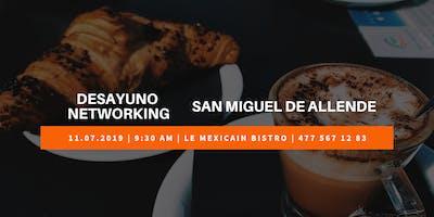 Desayuno Networking Negocios Con Sentido San Miguel de Allende
