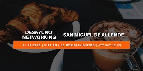 Desayuno Networking Negocios Con Sentido San Miguel de Allende entradas