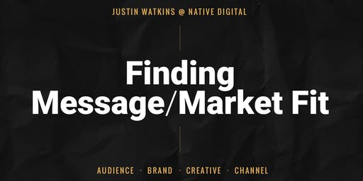 SMCKC August Breakfast | Finding Fit: Messaging Frameworks for Marketing Growth