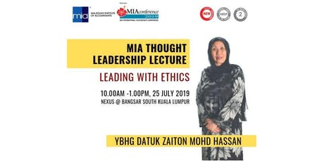 MIA THOUGHT LEADERSHIP LECTURE tickets