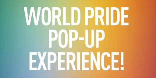 PRIDE POP-UP EXPERIENCE