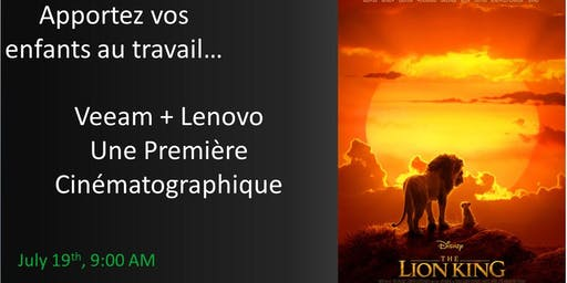 Apportez vos enfants au travail: Veeam + Lenovo Une Première Cinématographi