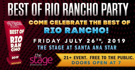 Best of Rio Rancho Party tickets