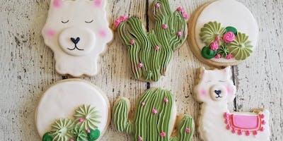 Cookies and Candles: Llamas!