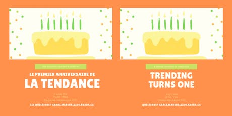 Trending Turns One! tickets