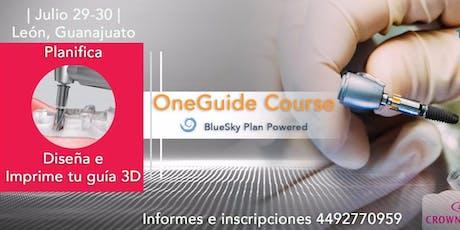 Curso master ONEGUIDE, Planifica, diseña e imprime en 3D entradas