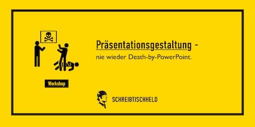 Workshop Präsentationsgestaltung mit Benjamin Apfelbaum // SCHREIBTISCHHELD