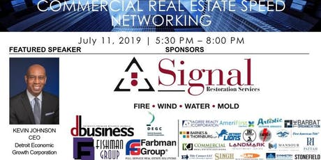 Commercial Real Estate Speed Networking tickets