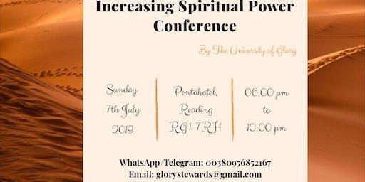Increasing Spiritual Power