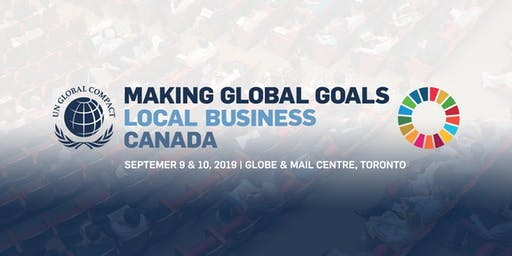 Making Global Goals Local Business Canada Summit
